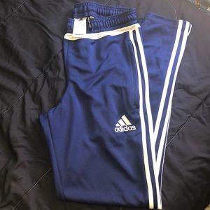 adidas Pants - Navy blue adidas skinny track pant